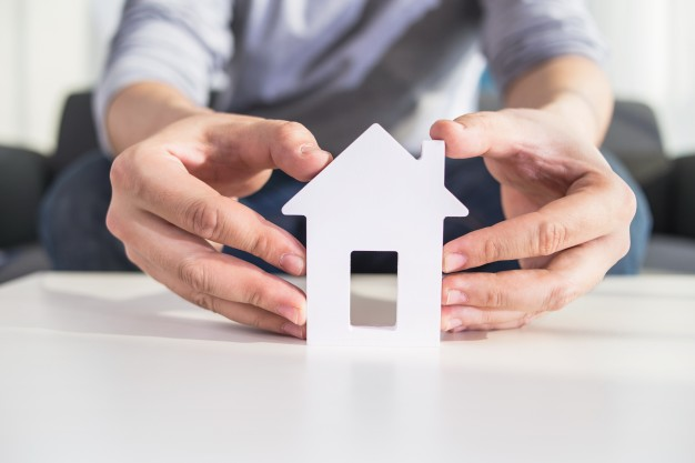 businessmen hold house model hand 1088 1013